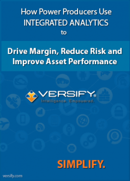Versify Integrated Analytics Executive Reporting Energy Utilities Industry
